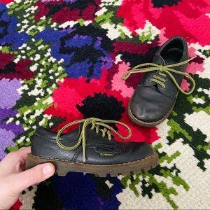 Vintage 1990's Kid's Dr. Marten's Leather Oxfords